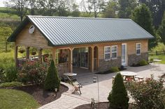 Pole Barn Interior Designs | Custom Buildings - Timberline Buildings