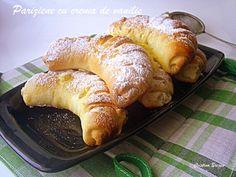 Pariziene cu crema de vanilie recipe