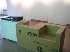 fauteuil de conversation en carton - Recherche Google