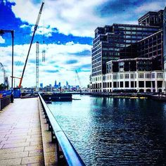 London skyline from Canary Wharf this afternoon #London #city #skyline #potd by emmhay93