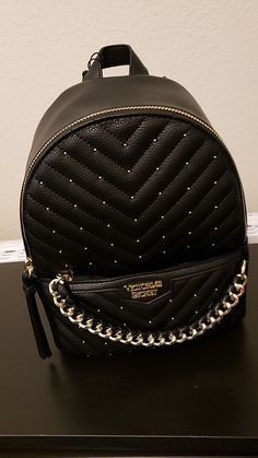 New and Used Jewelry & accessories for Sale in Phoenix, AZ - OfferUp - New Victoria secrets black back pack purse - Mochila Victoria Secret, Victoria Secret Backpack, Victoria Secret Bags, Cute Mini Backpacks, Stylish Backpacks, Luxury Purses, Luxury Bags, Cute School Bags, Accesorios Casual