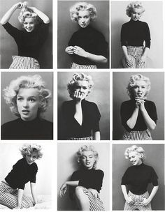 #marylin #monroe #beauty #vintage #b&w #actress