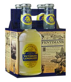 Inspiration: 75 Superb Examples of Bottle Packaging - Tuts+ Design & Illustration Article Victorian Recipes, Fentimans, Beer Label, Wine Labels, Bottle Packaging, Recipe Today, Packaging Design, Vodka Bottle, Lemonade 4
