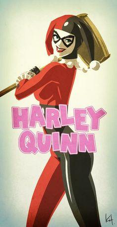 Harley Quinn by Kit