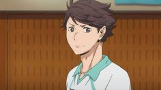 "From 5:30 evening Aug 16, 2014, it is broadcast, ""Oikawa Toru is not a genius"" anime ""Haikyu! ︎"" episode 20! Start of three round IH qualifying Aoba-ku, Josei finally! And, the past will be revealed, and gradually the strength of Oikawa. # Hq_anime"