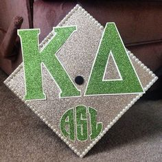 Monogrammed Kappa Delta Graduation Cap!