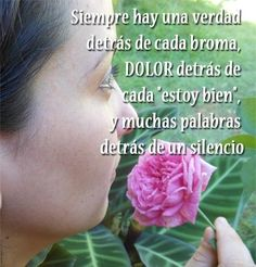 Imágenes de FLORES con Frases Bonitas | Saberimagenes.com Stud Earrings, Truths, Pretty Quotes, Hummingbird Pictures, Pictures Of Flowers, Bonito, Messages, Bees, Earrings