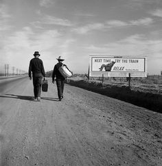 Toward Los Angeles, California, by Dorothea Lange - 20x200 (from $60)