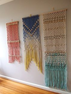 Macramé Wall Hanging by ouchflower