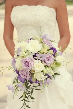 Picking your wedding flowers might not be up there in terms of priority with securing the venue and the dream dress, but when it comes. Purple Bouquets, Purple Wedding Flowers, Flower Bouquet Wedding, Floral Wedding, Wedding Colors, Wedding Ideas, Cascade Bouquet, Autumn Wedding, Inspiration