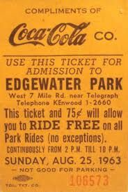 Before Cedar Point, everyone went to Edgewater Amusement Park.