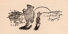 Winnie the Pooh by my vintage book collection (in blog form), via Flickr