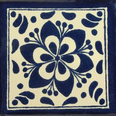 Traditional Mexican Tile - Jardin - Mexican Tile Designs