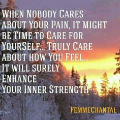#CareForYourSelf #LoveYourSelf #InnerStrength #YouAreWorthy