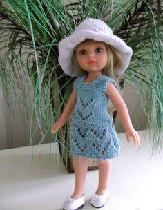 le tricot...pour vaincre ses peurs  Un modèle superbe suit pour poupée de 45 cm!