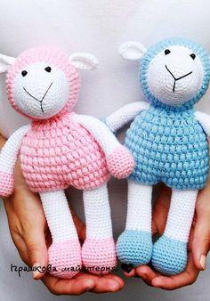 Amigurumi Sheep-Free Pattern | Amigurumi Free Patterns