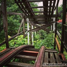 Abandoned amusement park  Visit my Abandoned America website for more  by abandoned_america
