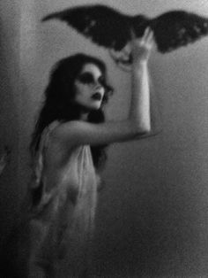 photography beauty my edits mine Black and White Model dark modeling morbid raven Macabre crow occult nikki sixx this is gonna hurt