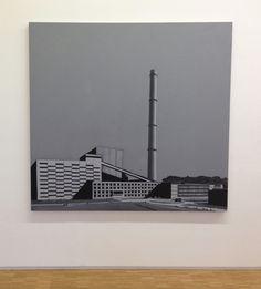 Wilhelm Sasnal, Untitled (Factory), 2004