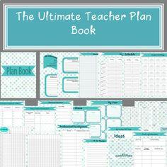 Teacher Planner by Not a Typical Teacher | Teachers Pay Teachers