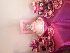Girls birthday ideas (I like the cupcake stands)