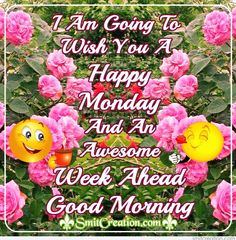 Happy Monday And Awesome Week Ahead, Good Morning Good Morning Monday Images, Monday Morning Quotes, Happy Monday Quotes, Good Morning Images Download, Good Morning Texts, Happy Morning, Good Morning Photos, Good Morning Wishes, Morning Board