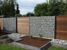 original diseño de valla de jardín