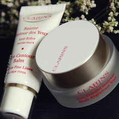 Clarins Extra-Firming Eye Complete Rejuvenating Cream // Clarins Eye Contour Balm