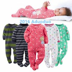 90f0c895d 2016 new baby girl clothes , soft fleece kids one pieces Jumpsuits Pajamas newborn  infant girl boys clothes baby costumes bebes-in Bodysuits from Mother ...