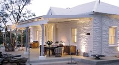oh man! just what i needed...someone stole my house. just to die for!! white bag-washed farm style house. love!