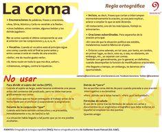 Karacteres para el buen uso del español | La coma