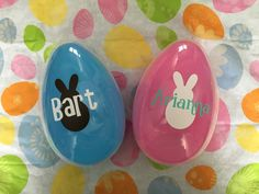 Items similar to Easter Eggs, Easter Basket, Easter Gift, Personalized Monogram Egg, Easter Bunny on Etsy Easter Party, Easter Gift, Easter Bunny, Easter Eggs, Xmas Crafts, Easter Crafts, Easter Projects, Easter Ideas, Diy Projects