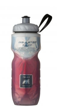 NEW Polar Insulated Water Bottle 20oz Red