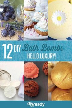 12 DIY Bath Bombs