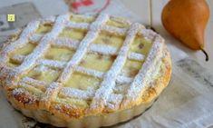 Crostata ricotta e pere (chez Bibia) Torte Cake, Italian Cookies, Apple Pie, Waffles, Breakfast, Desserts, Food, Cakes, Ricotta Cake