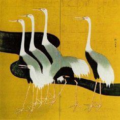 SAKAI HOITSU-CRANES