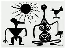 Composition in Black - Alexander Calder