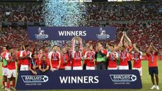 25bbfc0a84e Arsenal win Premier League Asia Trophy after defeating Everton - World  Soccer Talk
