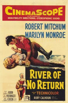 The beautifulscenery, made even more impressive by the use of cinemascope, Marilyn at herprime, Mitchum good as always, all these make River of No Return anoutstanding western. Description from moviesdvdnewreleases.com. I searched for this on bing.com/images