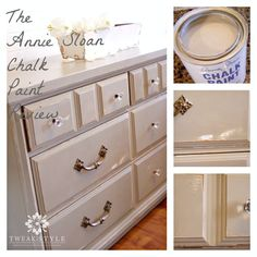 review and best links for annie sloan chalk paint, chalk paint, painted furniture, One of my very favorite shades French Linen Here it is distressed to show peek a boo primer