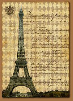 Eiffel Collage 10-Belle Brocante typepad and Etsy shop-vintage ephemera