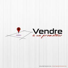 Création de logo pour Vendre à un promoteur. Visitez le site : www.vendreaunpromoteur.com