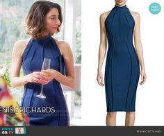 Delia's blue contour seam dress on Girlfriends Guide to Divorce. Outfit Details: https://wornontv.net/77081/ #GG2D