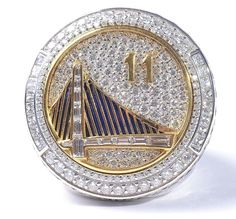 Cheap Buy Golden State Warriors Champion Ring at Lowest Price Golden State Warriors, Warriors Gear, Nba Rings, Nba Championship Rings, Splash Brothers, Shooting Guard, Sports Today, Sport Hall, National League