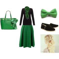 Green modest outfit for multiple occasions