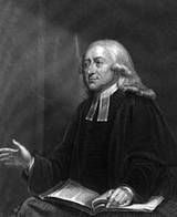 John Wesley John Wesley June] 1703 – 2 March 1791) was a Church of England cleric and Christian theologian. Wesley is largely credited, along with his brother Charles Wesley, as founding the Methodist movement which began when he took to open-air preaching in a similar manner to George Whitefield. In contrast to George Whitefield's Calvinism, Wesley embraced the Arminian doctrines that were dominant in the 18th-century Church of England.