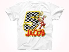 Mickey Roadster Racers Birthday Tshirt, Mickey Roadster Birthday Shirt,  Personalized Party Tshirt by FunPartyDay on Etsy