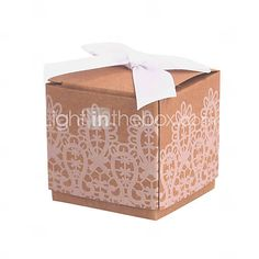 Don't have to have ribbon but cute favour boxes £3.88 for 12
