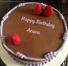 Chocolate Strawberry Birthday Cake Of Arava