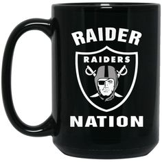 Oakland Raiders Mug Logo Raider Nation Coffee Mug Tea Mug Oakland Raiders Mug Logo Raider Nation Coffee Mug Tea Mug Perfect Quality for Amazing Prices! This ite